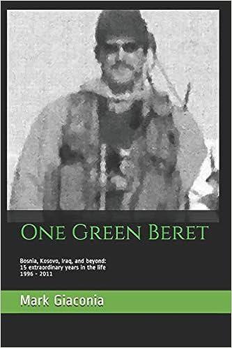 8ac80a92319e1 One Green Beret  Bosnia