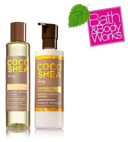 Bath & Body Works COCO SHEA HONEY GIFT SET Lightweight Body
