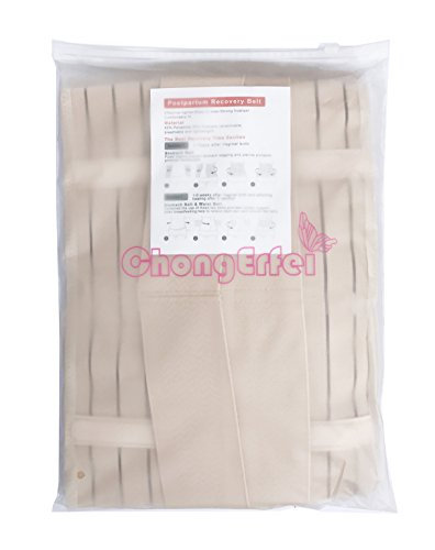3 in 1 Postpartum Support - Recovery Belly/waist/pelvis Belt Shapewear Slimming Girdle, Beige, One Size by Chongerfei (Image #6)