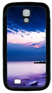 diy phone caseCool Painting Samsung Galaxy I9500 Cases & Covers -Purple Beach Custom PC Soft Case Cover Protector for Samsung Galaxy S4/I9500diy phone case
