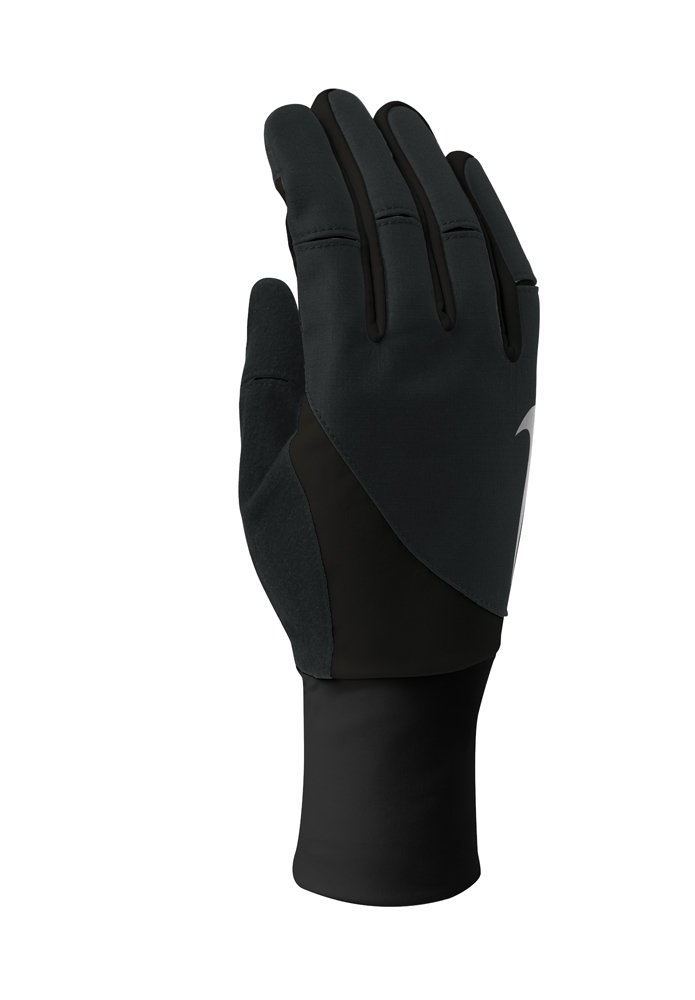 Nike Women's Storm Fit 2.0 Run Gloves (X-Small, Black/Black) by Nike (Image #1)