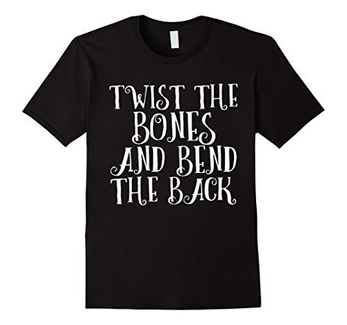 Sanderson Sister Costumes (Mens Twist the Bones and Bend the Back T-Shirt 2XL Black)