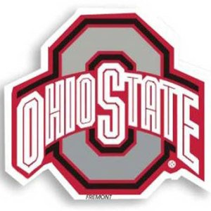 NCAA Ohio State Buckeyes 12-Inch Magnet