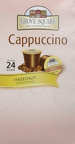 GROVE SQUARE HAZELNUT CAPPUCCINO 96 Single serve cups from Grove Square