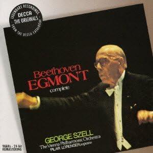 ベートーヴェン:劇音楽《エグモント》