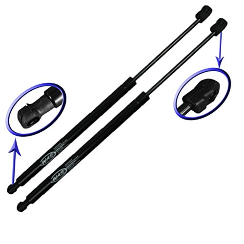 Two Rear Glass Charged Lift Supports for 2007-2015 Lincoln Navigator, 2007-2015 Ford Expedition. Left or Right Side. WGS-132-A-2