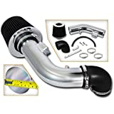 DC Sports CAI3003 Chevrolet Chevy Cobalt Polished Cold Air Intake System with Filter and Installation Hardware