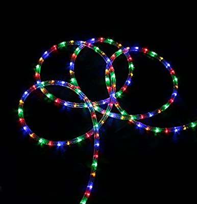 Northlight Commercial Grade Multicolored LED Indoor/Outdoor Christmas Rope Lights On A Spool, 288'