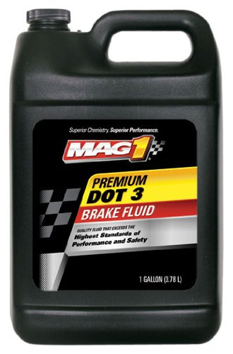 - MAG1 121 Premium DOT 3 Brake Fluid - 1 Gallon