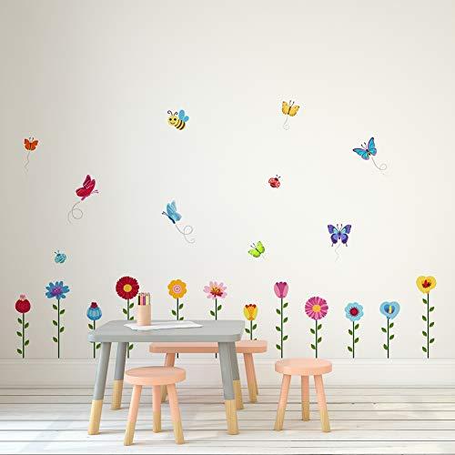 erflies for Nursery or Kids - Garden Decal Series ()