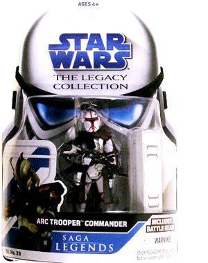 Japan Import Star Wars Legacy Collection Saga Legends Action Figure SL No. 23 ARC Trooper Commander