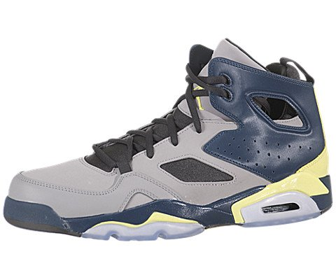 Nike Air Jordan Flight Club '91 Mens Basketball Shoes 555475-035 Matte Silver 11.5 M US (Nike Jordan Shoes Men Flight Club)