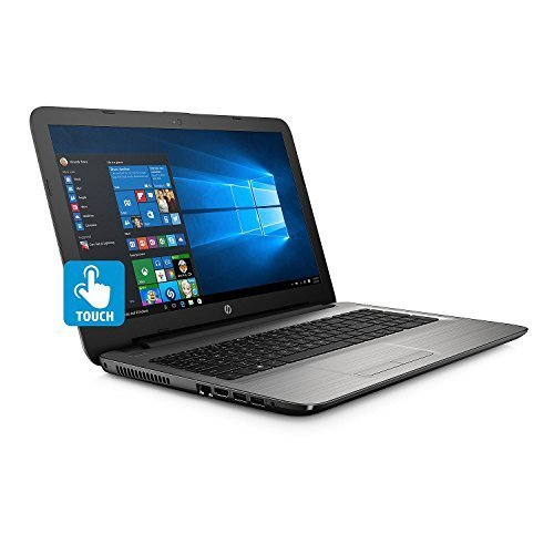HP 15.6-Inch HD Touchscreen High Performance Laptop, Intel Core i5-7200U 2.5GHz, 12GB DDR4 RAM, 1TB HDD, DVD, HDMI Intel HD Graphics 620, WIFI Webcam, Windows 10, Silver