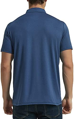 41EMtogjw%2BS. AC Men's Golf Polo Shirts Short Sleeve UPF 50+ Sun Protection Quick Dry Hiking Fishing Outdoor Performance T-Shirt    KPSUN Men's Cool Sun Protection Polo Shirt