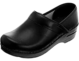 Professional Stapled Clog By Dansko Unisex Nursing Shoe Black Box