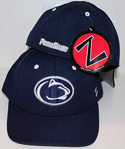 97b323ba638 Image Unavailable. Image not available for. Color  Penn State Nittany Lions  PSU Blue DHS Fitted Top Adult Mens Hat Cap by Zephyr