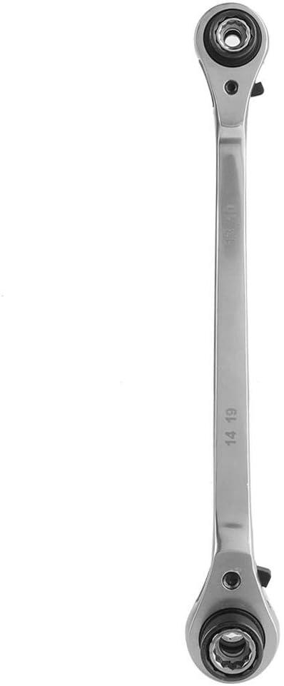 8-21 mm 8-en-1 multifunci/ón 72 dientes llave de trinquete 12 dientes llave de manga llave herramientas de reparaci/ón de llave de vaso Llave de vaso llave de trinquete