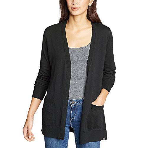 Eddie Bauer Women's Christine Tranquil Long-Sleeve Boyfriend Cardigan,