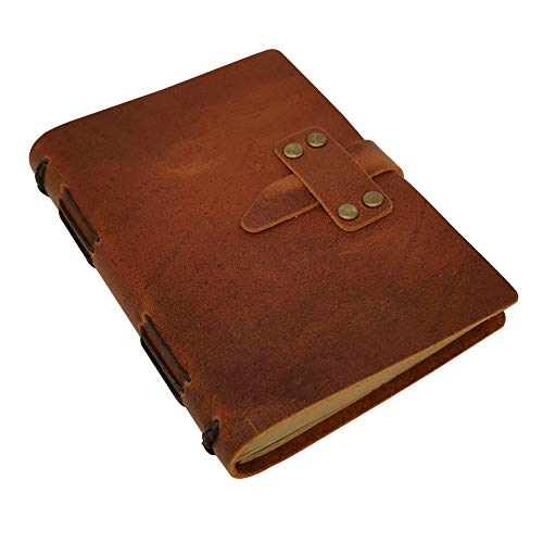 Handcraft Leather Journal Sheets Closure product image