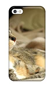 Imogen E. Seager's Shop Case Cover For Iphone 5/5s - Retailer Packaging Cat With Bell Collar Protective Case