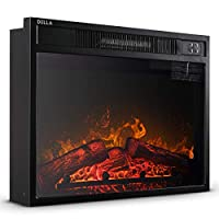 DELLA 1400w Embedded Fireplace Electric ...