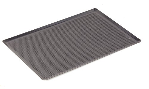 World Cuisine Sheet Cookie Non Stick (Paderno World Cuisine 20 7/8 Inch by 12 3/4 Inch Perforated Silicone Coated Baking Sheet)