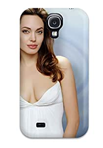 Best Case Cover Angelina Jolie American Actress Galaxy S4 Protective Case 7305064K37754050