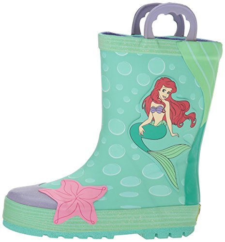 Western Chief Kids Waterproof Disney Character Rain Boots with Easy on Handles, Ariel Disney Princess, 12 M US Little Kid by Western Chief (Image #5)