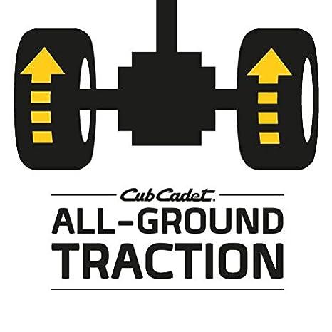 Cub Cadet - Tractor cortacesped XT3QR106E: Amazon.es: Bricolaje y ...