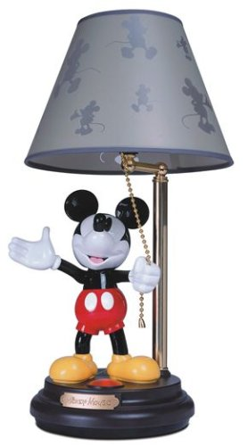 Disneys mickey mouse animated talking lamp amazon kitchen home disneys mickey mouse animated talking lamp aloadofball Gallery