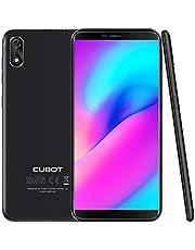 "CUBOT J3 (2018) Pantalla 18:9/5.0"" Android GO Reconocimiento Facial Dual Sim 1GB + 16GB, Cámara Trasera 8MP / Frontal 5MP, Procesador Quad-Core MT6580, WiFi, Bluetooth,GPS, 2G 3G 2000 mAh Plata"