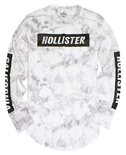 Hollister Men's Long Sleeve Graphic T-Shirt HOM-7 (Medium, 2413-108) from Hollister Co..