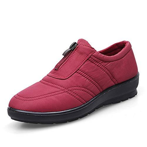 Zhrui Eu Taille Shoes couleur Rouge Vert 39 0Ir0qxHw