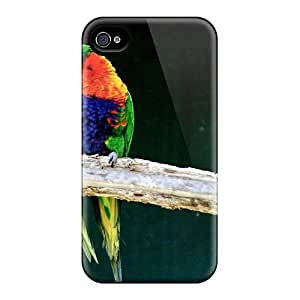 Premium Love Birds Back Cover Snap On Case For Iphone 4/4s