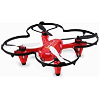 Holy Stone HS170C Predator 2 Mini RC Quadcopter Drone with HD Camera 2.4Ghz 4 CH 6 Axis Gyro Helicopter,Color Red