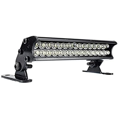 Apex RC Products 28 LED 70mm Aluminum Light Bar Fits Traxxas Rustler, Bandit, E-Revo, Nitro Rustler, Jato, Redcat Backdraft 3.5, ECX 1/18 Roost & More #9041L: Toys & Games