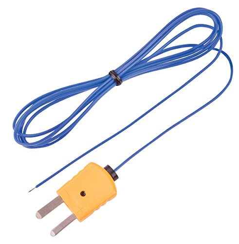 - REED Instruments TP-01 Beaded Thermocouple Wire Probe, Type K, -40 to 482°F (-40 to 250°C)
