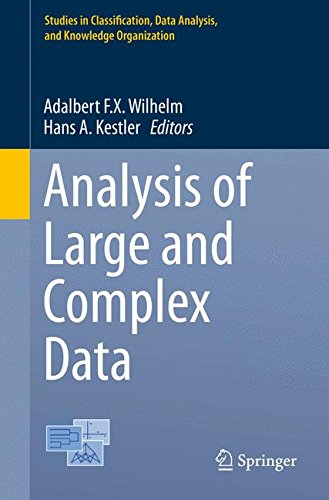 Analysis of Large and Complex Data (Studies in Classification, Data Analysis, and Knowledge Organization)