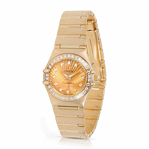 Omega Constellation quartz womens Watch 111.55.26.60.58.001 (Certified Pre-owned)
