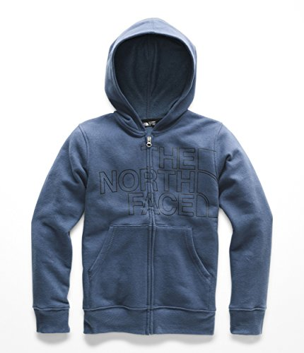The North Face Boys Logowear Full Zip Hoodie - Shady Blue - L by The North Face