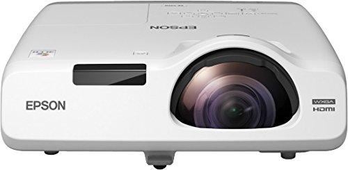 Epson EB-535W Video - Proyector (3400 lúmenes ANSI, 3LCD, WXGA (1280x800), 16000:1, 16:10, 1346,2 - 2946,4 mm (53 - 116