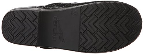 Dansko Women's Professional Clog, Black Tooled Leather , 35 EU/4.5-5 M US by Dansko (Image #3)