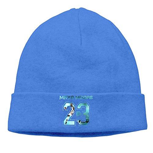 ElishaJ Unisex Maya #23 Player Moore Beanie Cap Hat Ski Hat Cap Snowboard Hat RoyalBlue