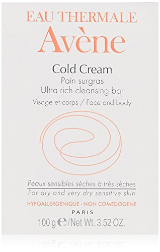 Eau Thermale Avène Cold Cream Ultra-Rich Cleansing Bar, 3.52 oz. (Cold Avene Cream)