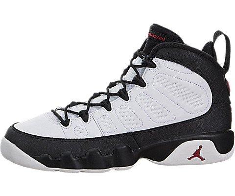 pretty nice e0a47 e4201 NIKE Air Jordan 9 Retro BG Black   White Space Jam LTD Rarity Basketball  Shoes Sneaker Black White, EU Shoe Size EUR 37.5, Color Black White - Buy  Online in ...