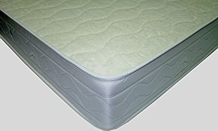 Mivis - Colchon ortopedico, tamaño 150/200 / 21 cm, color blanco