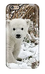 For BmGeHfg9647sFPXb Cute Baby Polar Bear Animals Protective Case Cover Skin/iphone 6 Case Cover