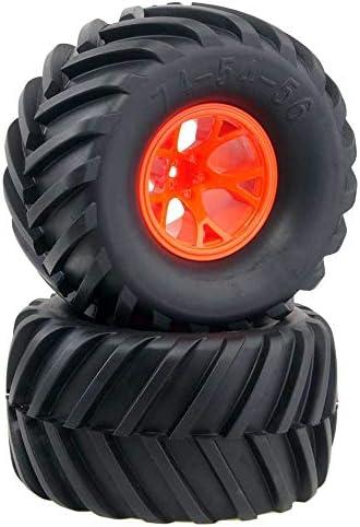 RC 0901-3003 Rubber Tires Wheel Sets 4P For HSP HPI 1:10 Monster