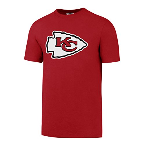 OTS NFL Kansas City Chiefs Men's Rival Tee, Large, Red-I by OTS