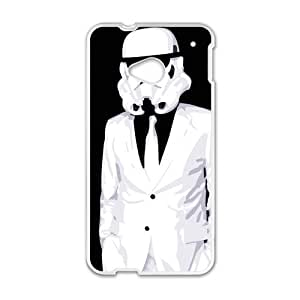 Happy Stormtrooper Cell Phone Case for HTC One M7